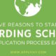 Boarding School Applications