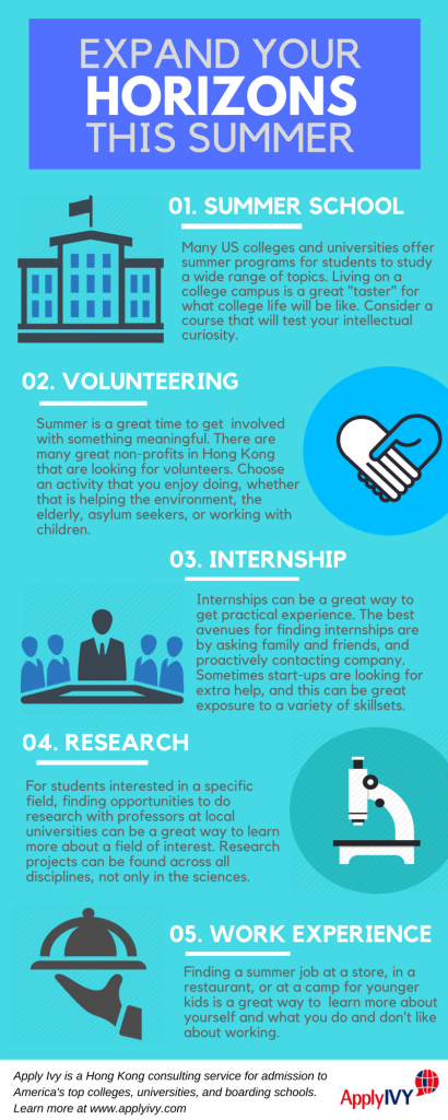 Planning Your Summer Infographic